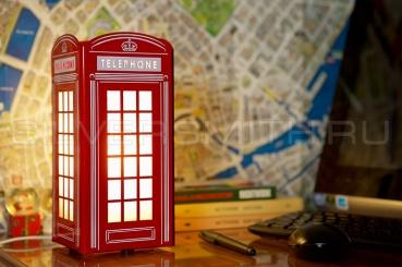 Светильник настольный LONDON PHONE